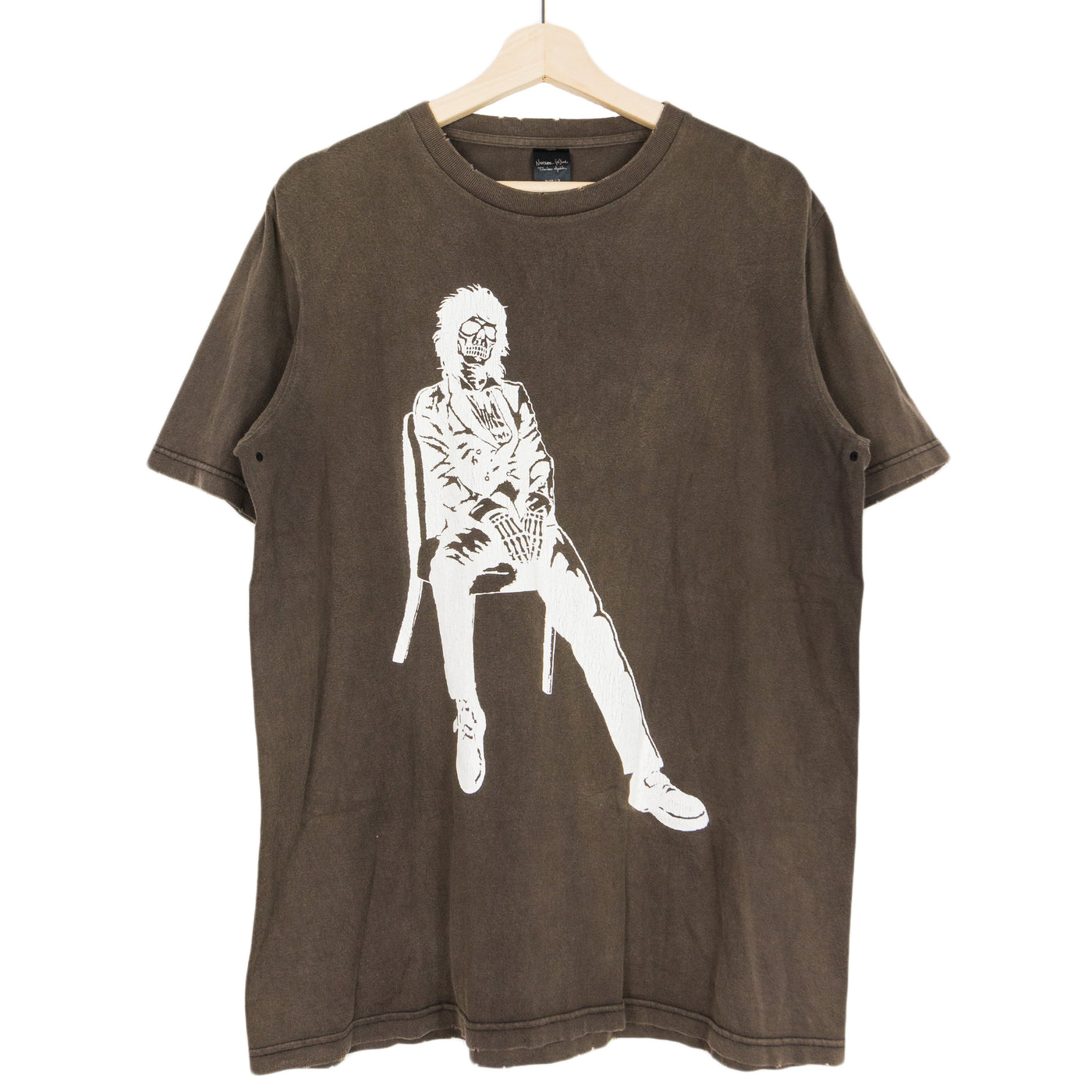 Number (N)ine Skeletal Johnny Thunders Tee - SS04