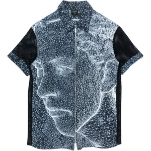 Jean Paul Gaultier Constellation Zip-Up Shirt - SS01