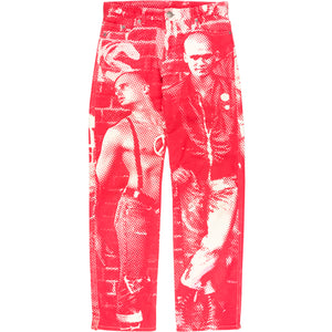 "Jean Paul Gaultier ""Fight Racism"" Jeans - AW97"