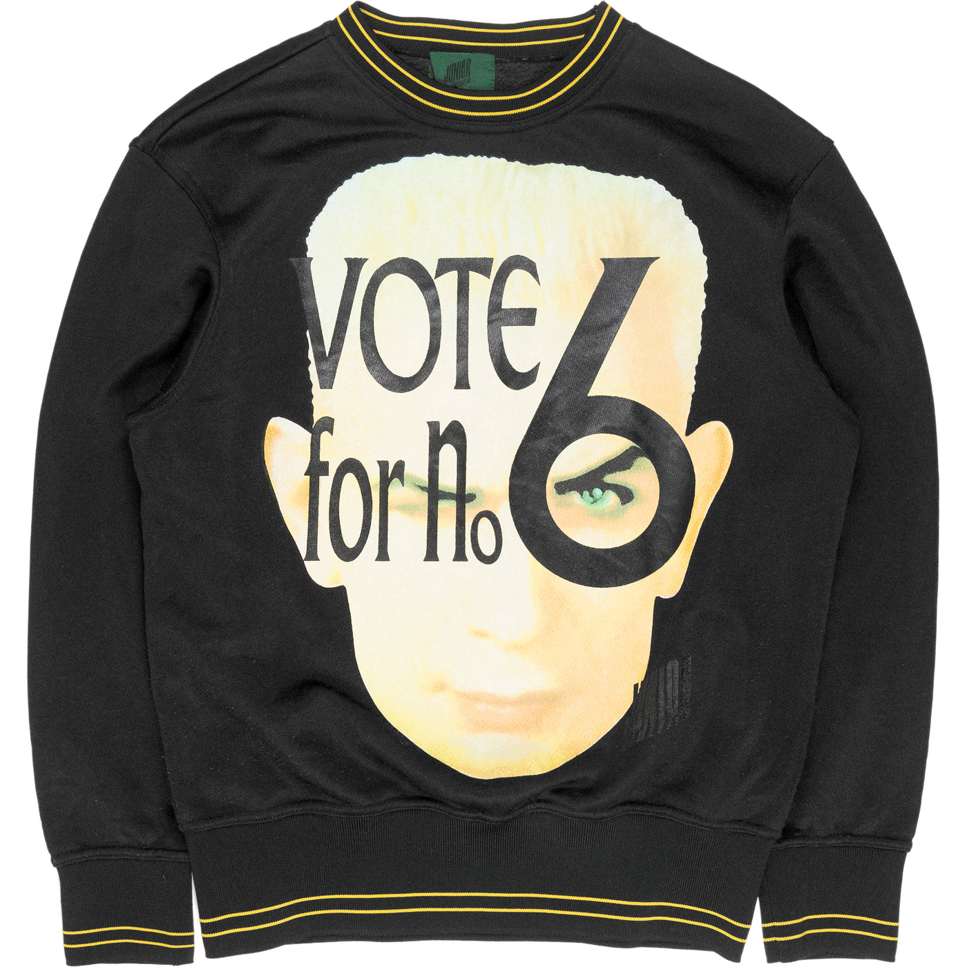 "Jean Paul Gaultier ""Vote For No. 6"" Crewneck Sweatshirt"