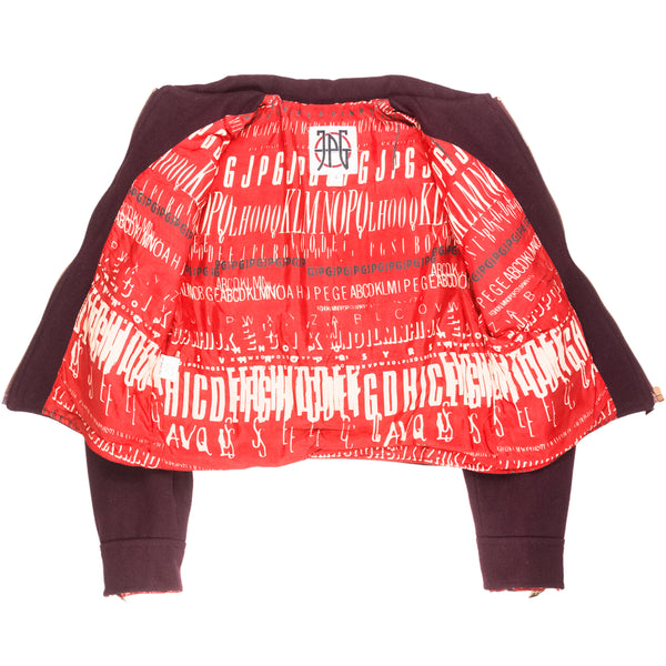 Jean Paul Gaultier Oversized Wool Work Jacket
