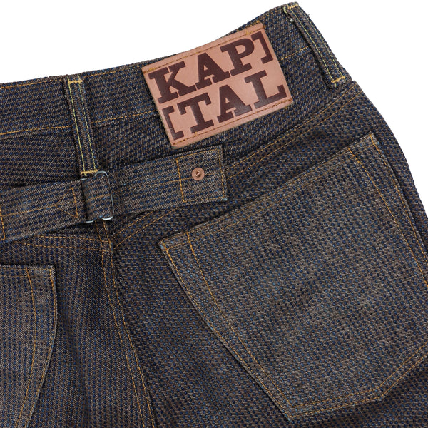 Kapital Century Denim Jeans 5P Stone NFS Brown