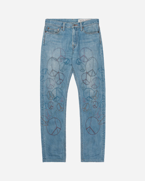 Kapital Embroidered Peace Denim