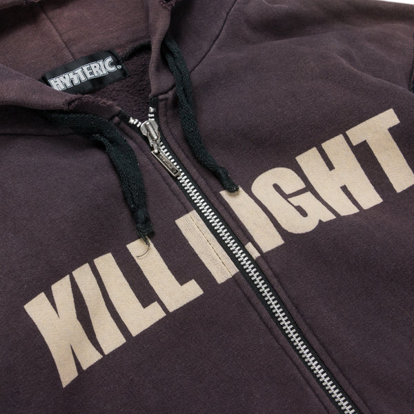 "Hysteric Glamour ""KILL LIGHT"" Hooded Sweatshirt"