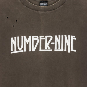 "Number (N)ine Led Zeppelin Logo Tee - SS05 ""Nightcrawler"""