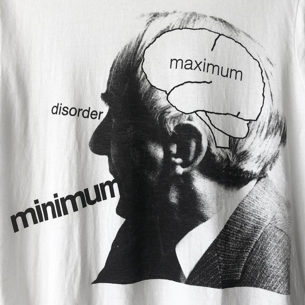 "Undercover ""Maximum Minimum"" Tee - SS10 ""Less But Better"""