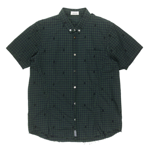 Undercover Middle Finger Button Up Shirt - SS13
