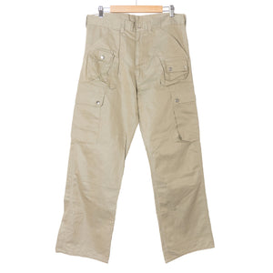 Needles Beige Cargo Trouser
