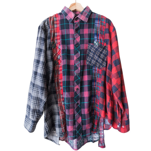 Rebuild by Needles 7 Cuts Flannel