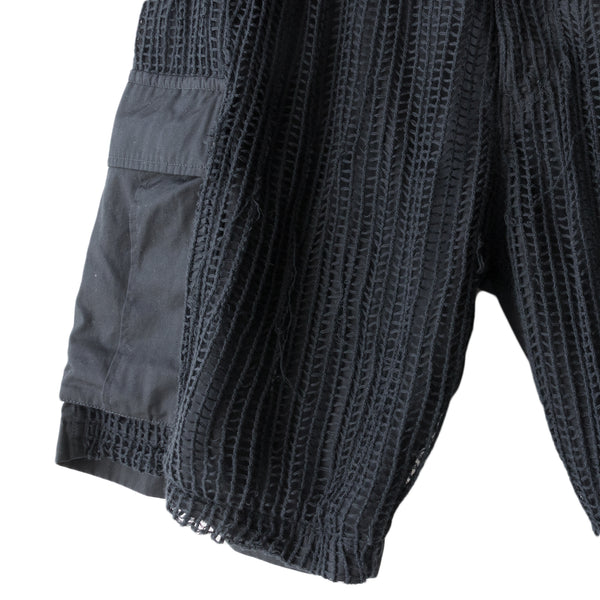 "Undercover Netted Cargo Shorts - SS06 ""T"""