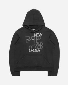 "Raf Simons New Order ""Touched By The Hand Of God"" Hoodie - AW03 ""Closer"""