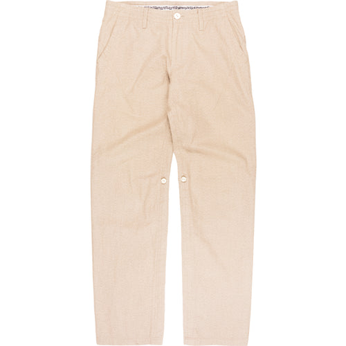 "Number (N)ine Beige Darted Trouser - SS07 ""About A Boy"""