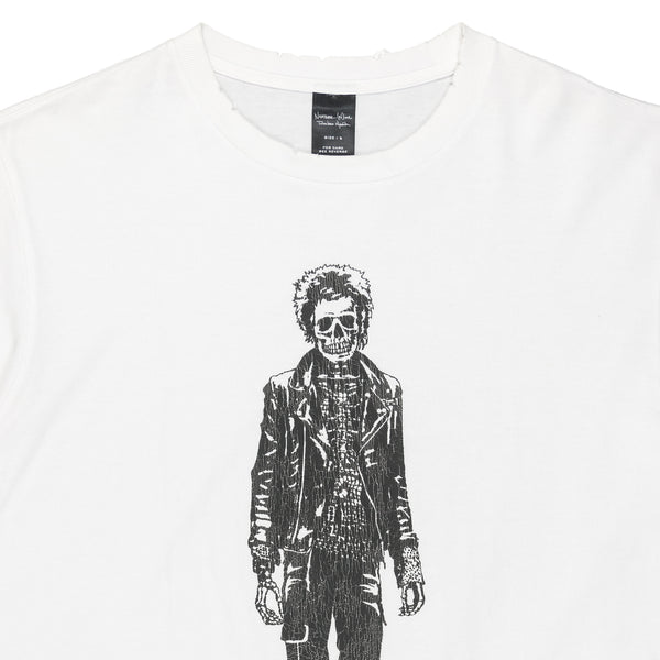 "Number (N)ine Skeletal Paul Simonon Tee - SS04 ""Dream Baby Dream"""