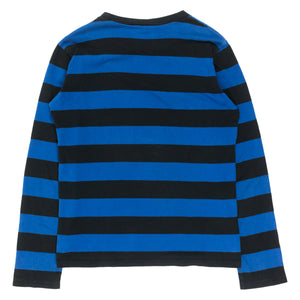 Number (N)ine Blue Striped Longsleeve Tee - SS/AW03