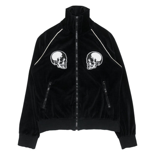 Number (N)ine Double Skull Velour Track Jacket - SS04
