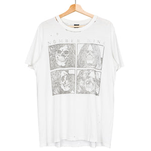 "Number (N)ine Skeletal Band Tee - SS04 ""Dream Baby Dream"""