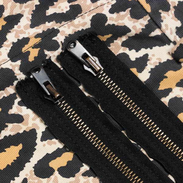 "Number (N)ine Leopard Bondage Pants - SS/AW03 ""Touch Me I'm Sick"""