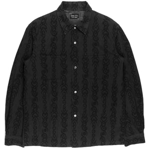 "Number (N)ine Tribal Flannel - AW06 ""Noir"""