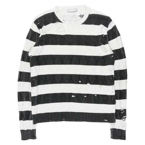 "Number (N)ine Striped Sweater - SS02 ""Modern Age"""