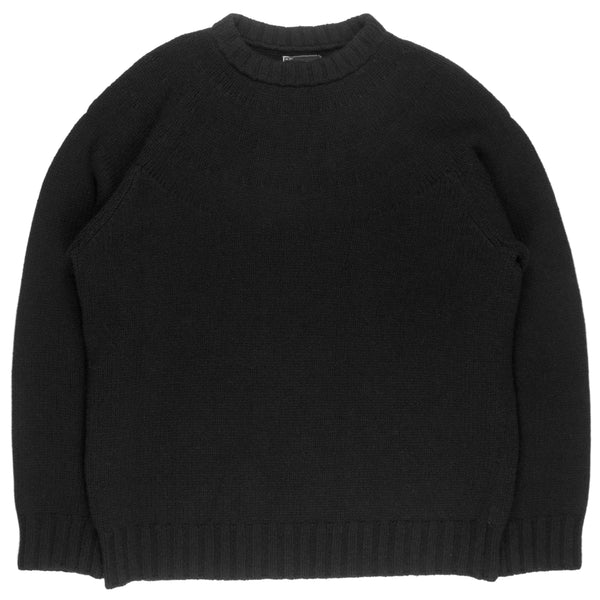 "Number (N)ine Wool Knit Sweater - AW06 ""Noir"""