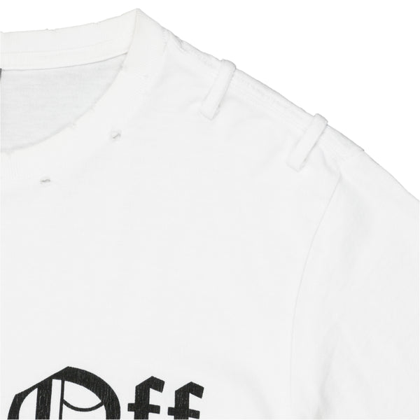 "Number (N)ine ""Piss Off"" Tee - SS06 ""Welcome to the Shadow"""