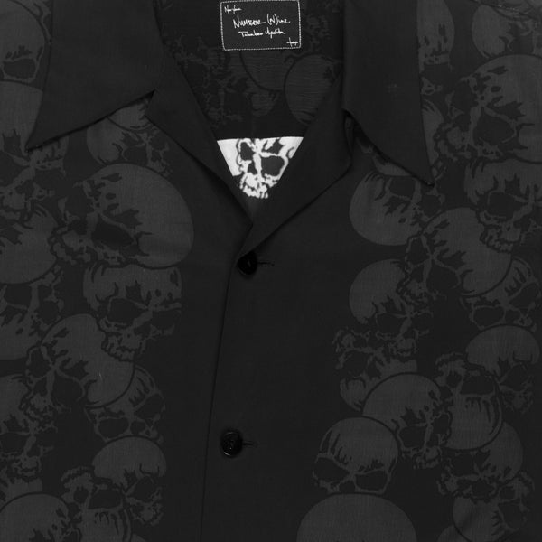 "Number (N)ine Skull Button Up - AW06 ""Noir"""