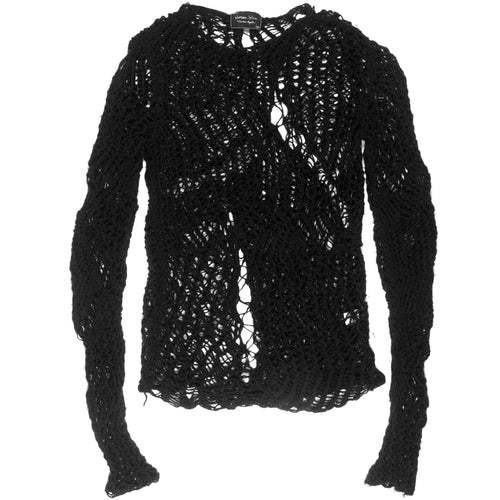 "Number (N)ine Spider Knit Sweater - SS05 ""Nightcrawler"""