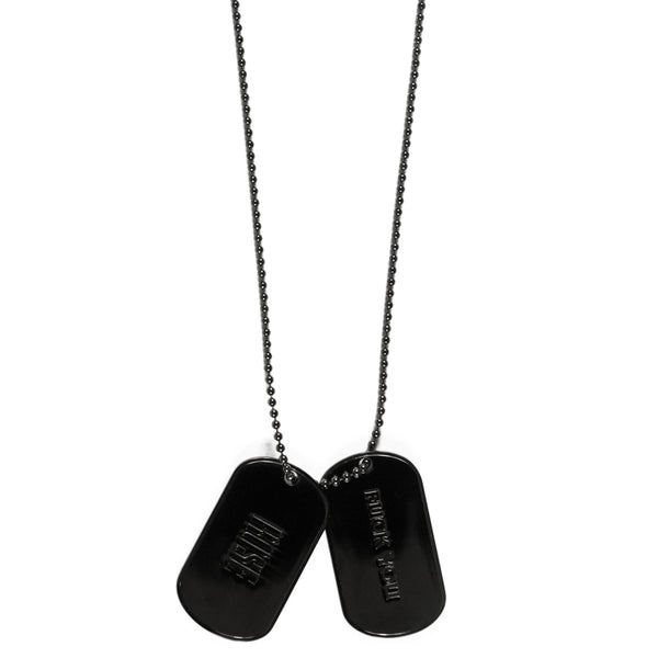 "Number (N)ine ""Rose"" Dog Tag Necklace - SS06 ""Welcome to the Shadow"""
