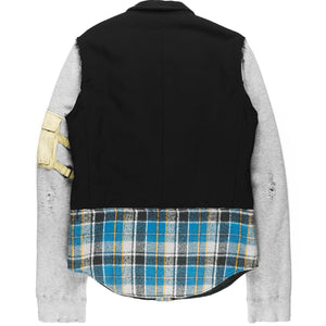 "Number (N)ine Hybrid Blazer - AW05 ""The High Streets"""