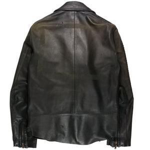 "Number (N)ine Python Leather Jacket - SS06 ""Welcome to the Shadow"""