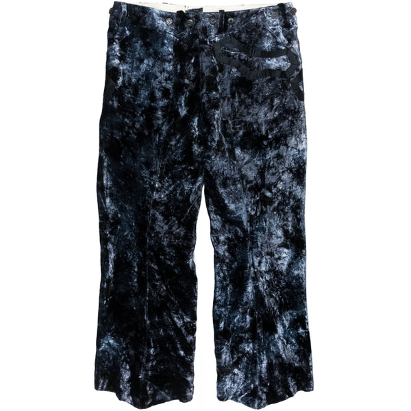 "Number (N)ine Velour Trousers - SS09 ""The Lonesome Heroes"""