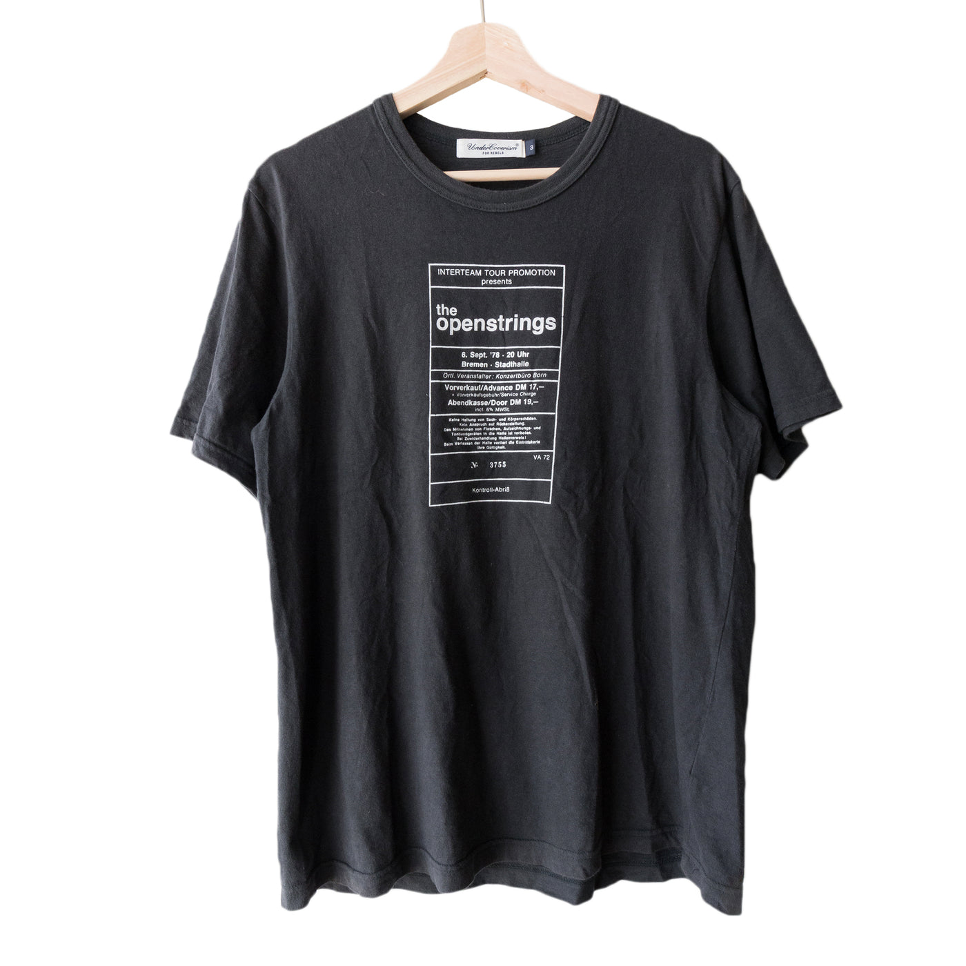 Undercover Openstrings Tee - SS12