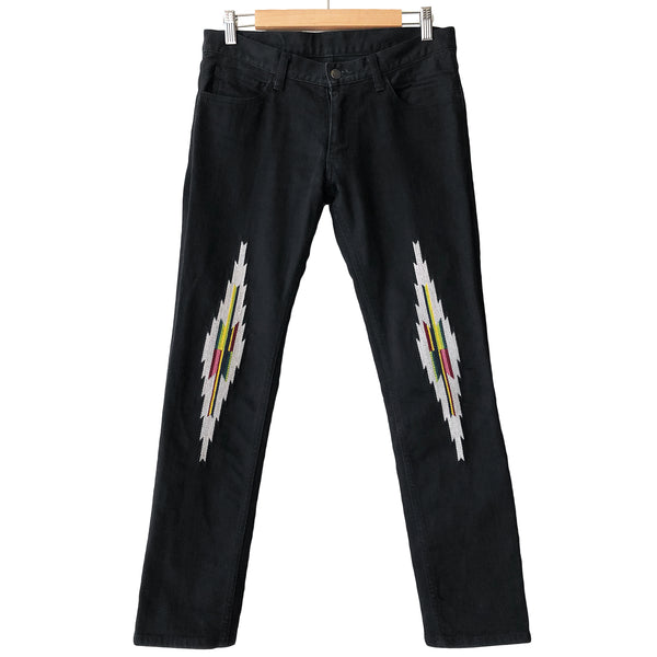 "Number (N)ine Black Ortega Jeans - AW05 ""The High Streets"""