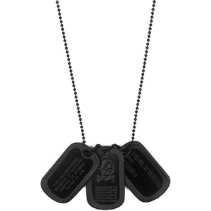 "Undercover Dog Tag Necklace - AW03 ""Paperdoll"""