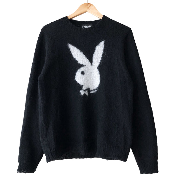 Playboy x Schott NYC Mohair Crewneck Sweater
