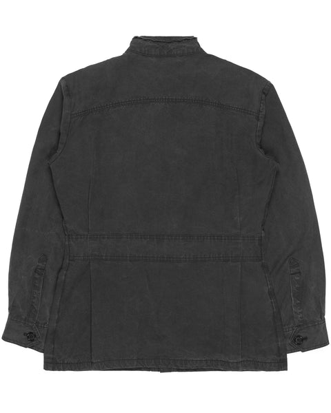 "Raf Simons Charcoal M-51 Jacket - AW05 ""Waves"""