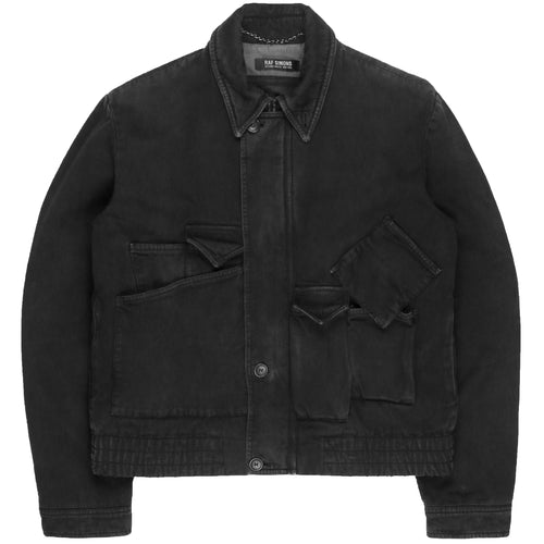 "Raf Simons Sculptural Multi-Pocket Work Jacket - AW04 ""Waves"""