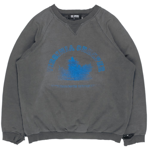 "Raf Simons ""Virginia Creeper"" Crewneck Sweatshirt - AW02"