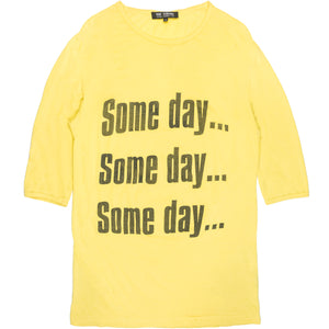 "Raf Simons ""Someday"" Tee Shirt - SS02"