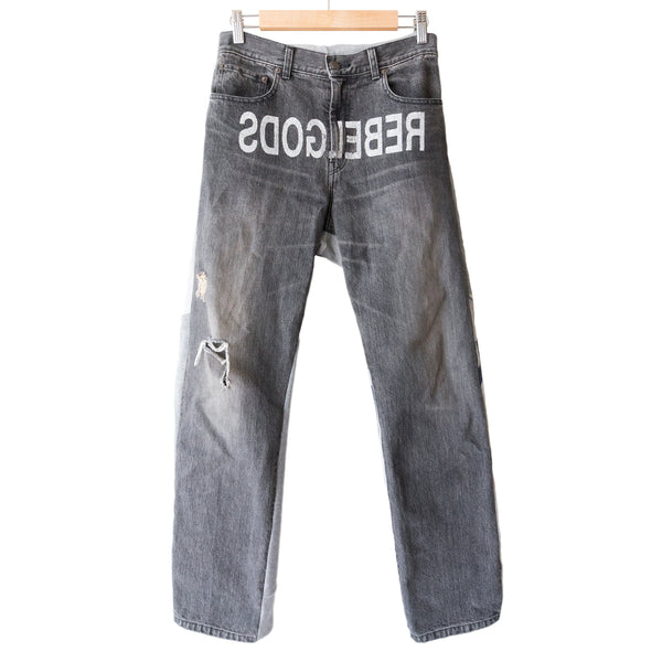 "Undercover ""REBELGODS"" Hybrid Denim - AW02 ""Witch's Cell Division"""