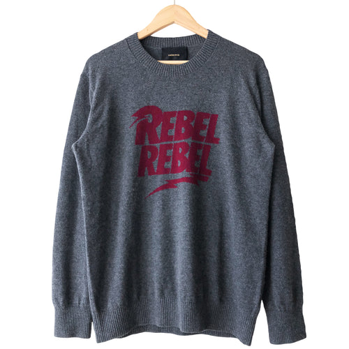 Undercover David Bowie Rebel Rebel Crewneck Sweater - AW15