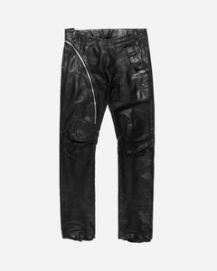 "Rick Owens Leather Aircut Jeans - SS15 ""Faun"""