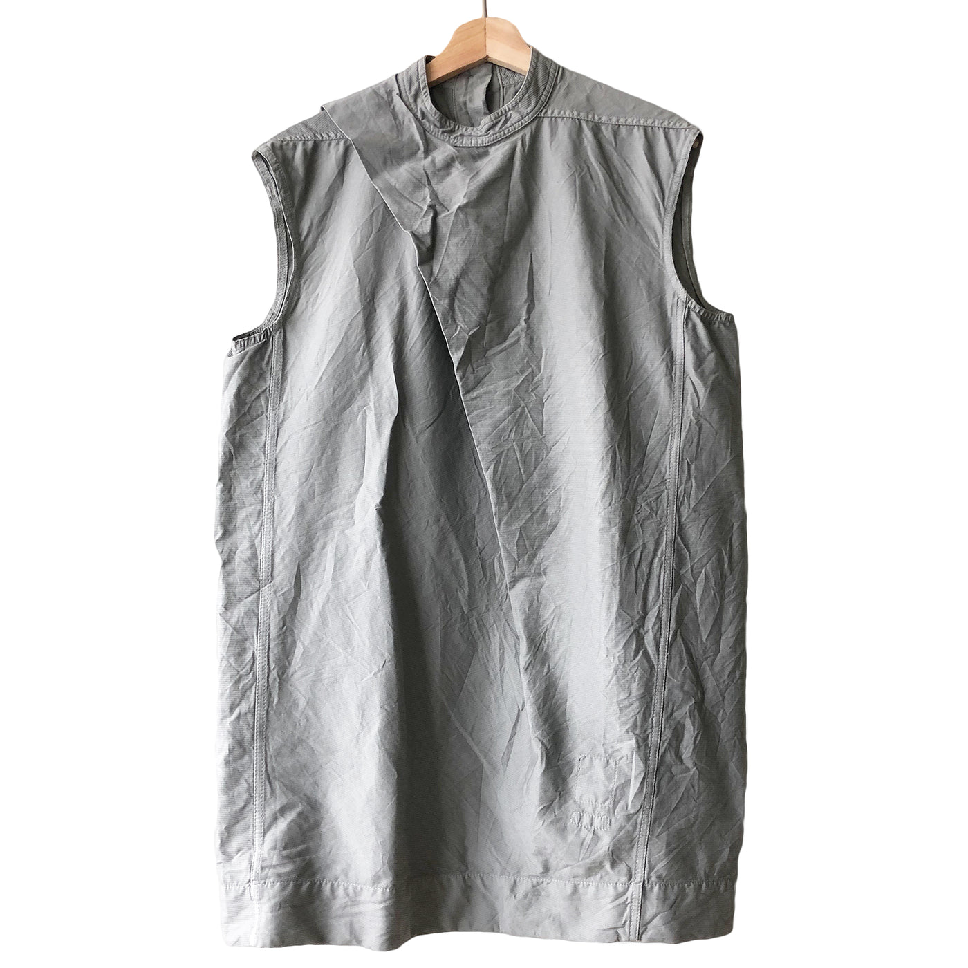Rick Owens Drkshdw Draped Sleeveless Shirt - SS16