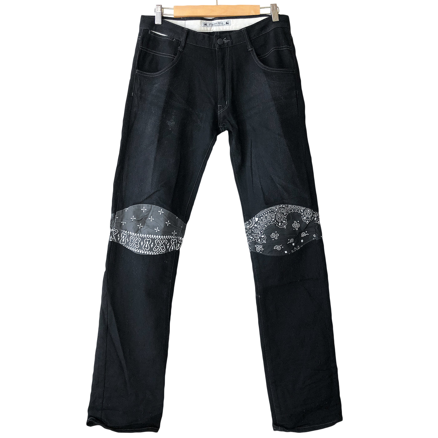 Sasquatchfabrix. Black Bandana Denim