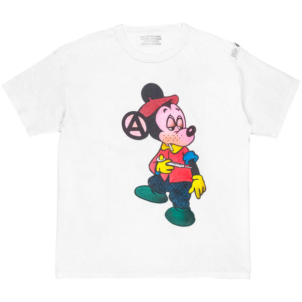 Seditionaries Mickey Shooting Heroin Tee - 1970's