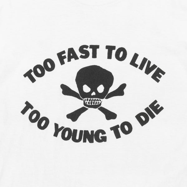 Seditionaries Too Fast To Live Tee - Early '80s BOY London Era