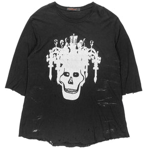 "Undercover Chandelier Skull Tee - AW03 ""Paperdoll"""
