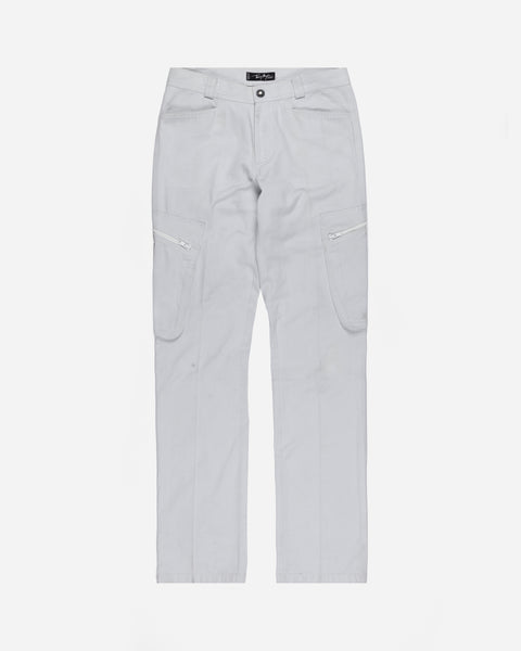Theirry Mugler Dove Grey Cargo Pant