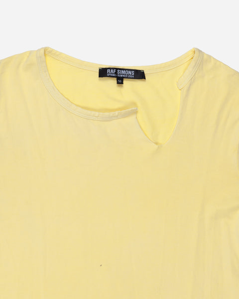 "Raf Simons Slit Neck Tee - SS04 ""May The Circle Be Unbroken"""