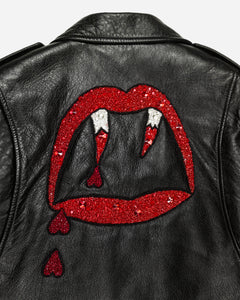 "Saint Laurent Paris ""Blood Luster"" Motorcycle Jacket - SS16 ""Surf Sound"""